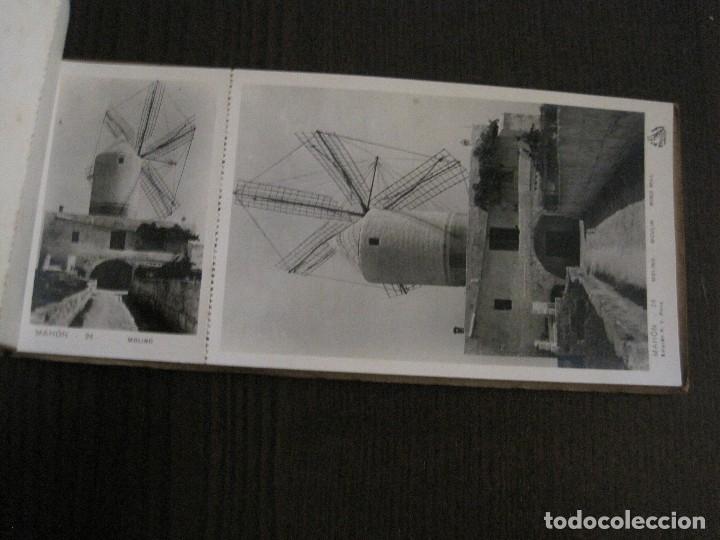 Postales: MAHON-BLOCK LARGO 12 POSTALES ANTIGUAS FOTOGRAFICAS-V. PONS -CON POSTAL PEQUEÑA-VER FOTOS-(V-14.416) - Foto 18 - 120328463