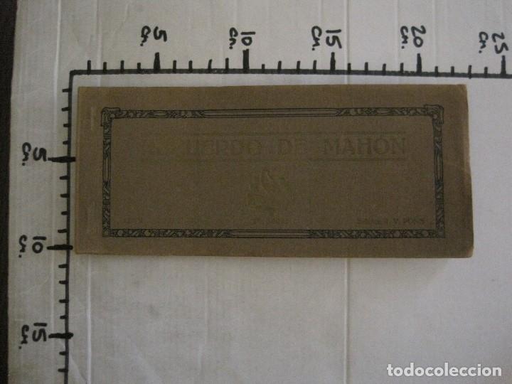 Postales: MAHON-BLOCK LARGO 12 POSTALES ANTIGUAS FOTOGRAFICAS-V. PONS -CON POSTAL PEQUEÑA-VER FOTOS-(V-14.416) - Foto 21 - 120328463