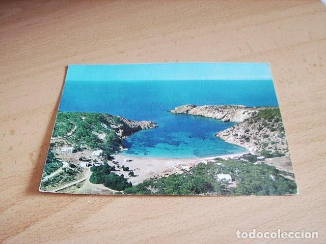IBIZA ( BALEARES ) CALA VADELLA.VISTA AEREA (Postales - España - Baleares Moderna (desde 1.940))