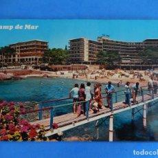Postales: CAMP DE MAR. MALLORCA. BALEARES. EDICIONES PALMA. DÉCADA DE LOS AÑOS 70. POCO FRECUENTE.. Lote 121464915