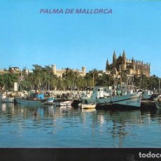 Postales: CATEDRAL Y PUERTO PESQUERO. PALMA DE MALLORCA.. Lote 121790483