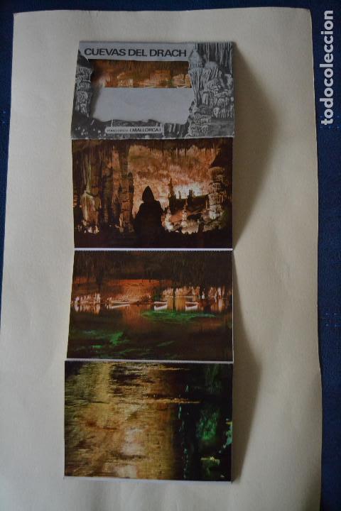POSTALES DE LAS CUEVAS DEL DRACH (Postales - España - Baleares Moderna (desde 1.940))