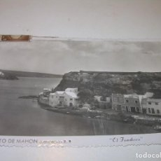 Postales: ANTIGUA POSTAL.....PUERTO DE MAHON.. Lote 124186335