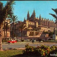 Postales: MALLORCA (BALEARES) - PALMA .- LA CATEDRAL (SIGLO XIII). Lote 124402827