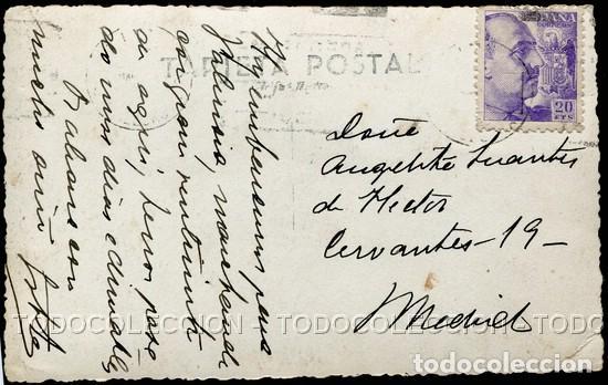 Postales: POSTAL BALEARES PALMA DE MALLORCA HOTEL ROYAL . CA AÑO 1940-50 - Foto 2 - 124418491