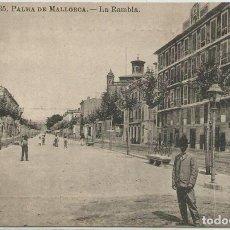 Postales: POSTAL PALMA AVENIDA LA RAMBLA ED. ROIG N° 35 MALLORCA. Lote 124528927