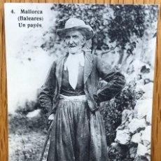 Postales: MALLORCA - BALEARES - UN PAYÉS - FOT. LACOSTE. Lote 124941467