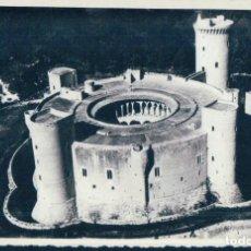 Postales: POSTAL VISTA AEREA CASTILLO DE BELLVER - PALMA DE MALLORCA - FOTOGRAFIA ORIGINAL - FOTO BALEAR. Lote 125275679