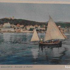 Postales: POSTAL ANTIGUA DEL PUERTO DE PALMA DE MALLORCA. Lote 125846075