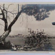 Postales: PALMA DE MALLORCA (BALEARES) DETALLE DEL PUERTO DESDE EL TERRENO CIRCULADA 1941. Lote 126261619