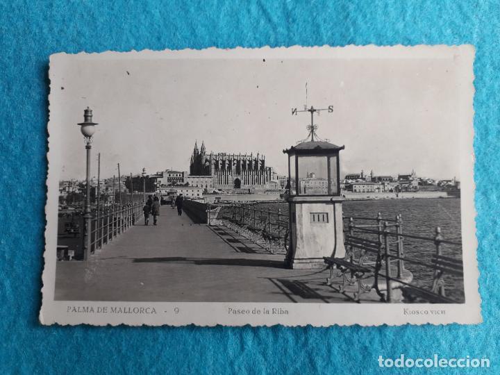 PALMA DE MALLORCA. PASEO DE LA RIBA. (Postales - España - Baleares Moderna (desde 1.940))
