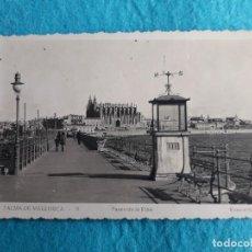 Postales: PALMA DE MALLORCA. PASEO DE LA RIBA.. Lote 126616335