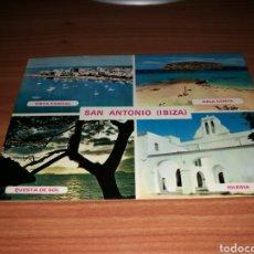 Postales: POSTAL ANTIGUA SAN ANTONIO DE IBIZA. AÑOS 70. Lote 127156038