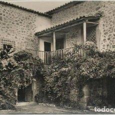 Postales: POSTAL ESCORCA CASA DETALLE DEL PATIO ED. AGUILERA N° 1256 SOLLER MALLORCA. Lote 128537895