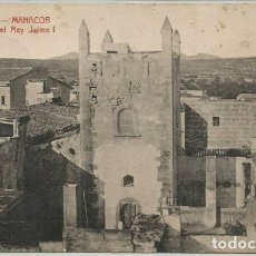 Postales: POSTAL MANACOR PALACIO DEL REY JAIME I ED. ATV MALLORCA 1926. Lote 128548963