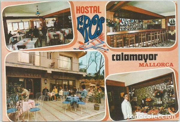 Postal Calamayor Hostal Eros Terraza Bar Comedo Sold