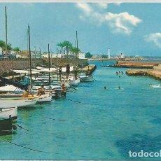 Postales: POSTAL CAN PICAFORT VISTA PARCIAL BARCAS MALLORCA 1966 . Lote 129085115