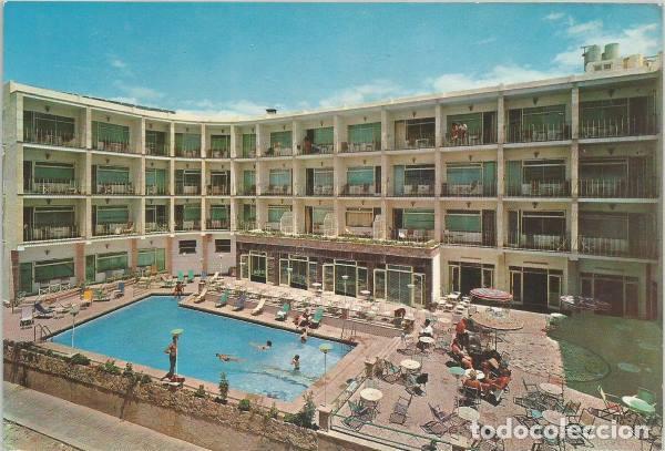 Postal Playa De Palma Hotel Iris Piscina Mallorca 1965