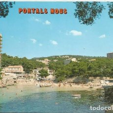 Postales: POSTAL CALA PORTALS NOUS HOTELES PLAYA MALLORCA 1984. Lote 129498995