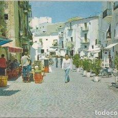 Postales: POSTAL IBIZA CIUDAD ALTA CALLE PEATONAL TIENDAS BALEARES 1975 . Lote 129966927