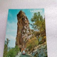 Postales: MALLORCA CARRETERA DE LA CALOBRA POSTAL CON SEAT 600 SIN CIRCULAR FOTO PLANAS. Lote 130318690
