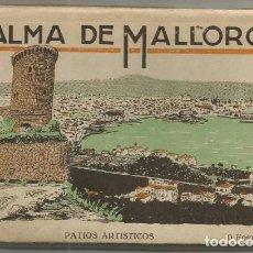 Postales: BLOC 10 POSTALES FOTO ALBUM CARNET PALMA DE MALLORCA PATIOS ARTISTICOS ED. ROISIN N° 2 . Lote 131138548
