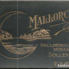 Postales: BLOC 9 POSTALES FOTO ALBUM CARNET MALLORCA VALLDEMOSA MIRAMAR SOLLER ED. AM VB V.B N° 13 . Lote 131138788