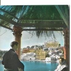 Postais: PALMA DE MALLORCA-PAREJA EN UN RINCÓN DE LA BAHIA- CASA PLANAS. Lote 132331218