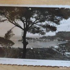 Postales: POS 82 ANTIGUA POSTAL FOTOGRÁFICA - VISTA PANORÁMICA SOLLER FOT. F. GUILER - ESCRITA Y CON SELLO. Lote 132507298