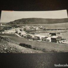 Postales: MENORCA VISTA DEL PUEBLO PESQUERO DE FORNELLS. Lote 132729798