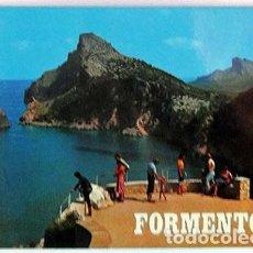 Postales: POSTAL FORMENTOR MALLORCA, BALEARES DESDE EL MIRADOR AÑO 1977. Lote 133224894