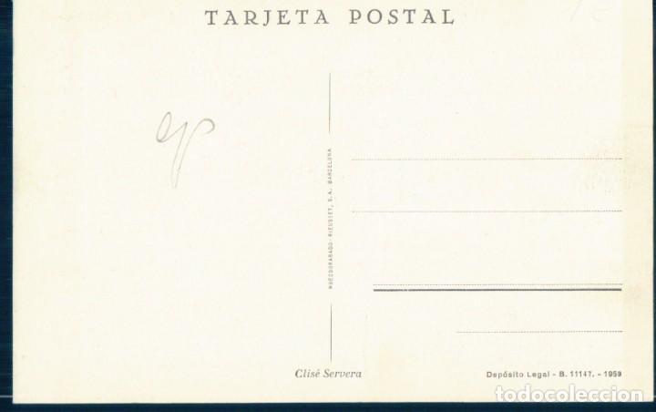 Postales: POSTAL MALLORCA - CUEVAS DEL DRACH - FLECO DE MANTON - CLISE SERVERA - Foto 2 - 133285822