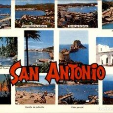 Postales: SAN ANTONIO ABAD – IBIZA – CASA FIGUERETAS – 1973 – SC. Lote 133960586