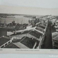 Postales: POSTAL MAHON - DESEMBARCADERO Y VISTA PARCIAL - ED J. PONS MOLI - CIRCULADA. Lote 134193982