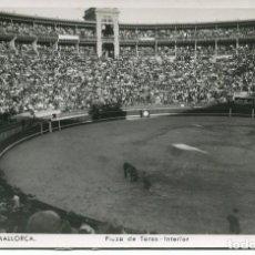 Postales: PALMA DE MALLORCA--PLAZA DE TOROS-INTERIOR-1952- TRUYOL. Lote 134530598