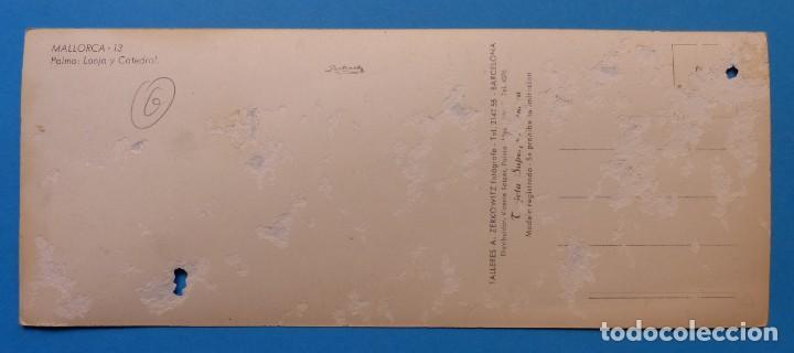 Postales: PALMA MALLORCA - LONJA Y CATEDRAL - POSTAL FOTOGRAFICA - Foto 4 - 134984394