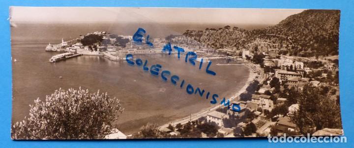 PUERTO DE SOLLER, MALLORCA - VISTA PARCIAL - POSTAL FOTOGRAFICA (Postales - España - Baleares Antigua (hasta 1939))