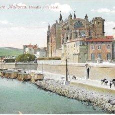 Postales: P- 8664. POSTAL PALMA DE MALLORCA, EL HOTEL Y TEATRO PRINCIPAL. N º65. . Lote 135313566