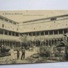 Postales: MALLORCA - PALMA DE MALLORCA - CLAUSTRO DE SAN FRANCISCO. Lote 135654387