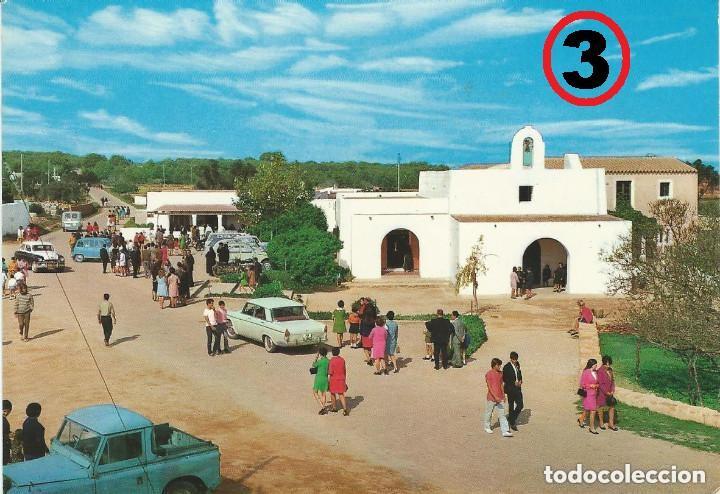 Postales: LOTE DE 4 POSTALES DE MALLORCA, IBIZA Y FORMENTERA AÑOS 70 - Foto 4 - 135700851