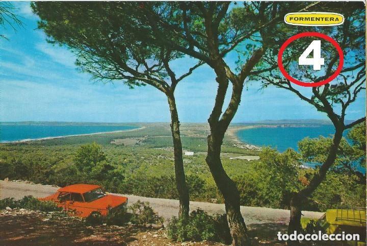 Postales: LOTE DE 4 POSTALES DE MALLORCA, IBIZA Y FORMENTERA AÑOS 70 - Foto 5 - 135700851