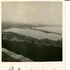 Postales: PALMA DE MALLORCA- VISTA DESDE EL CASTILLO- 1934 .FOTOGRÁFICA- MUY RARA ÚNICA. Lote 135708331