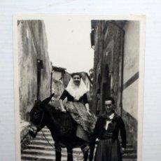 Postales: ANTIGUA FOTO POSTAL DE MALLORCA (BALEARES). ESCENA TIPICA. SIN CIRCULAR. Lote 135785558