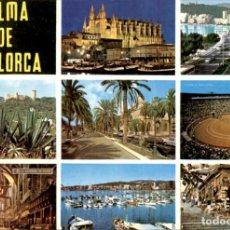 Postales: PALMA DE MALLORCA – 1966 – CIRCULADA. ICARIA. Lote 135911570