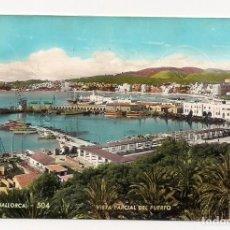 Postales: PALMA DE MALLORCA - VISTA PARCIAL DEL PUERTO - Nº504 A. ZERKOWITZ - ESCRITA. Lote 135928334