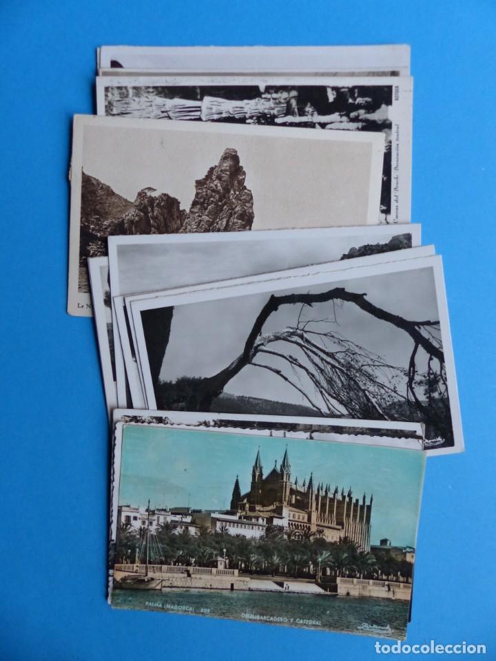 15 POSTALES DE ISLAS BALEARES, VER FOTOS ADICIONALES - ALGUNAS DE ELLAS POSTALES FOTOGRAFICAS (Postales - España - Baleares Antigua (hasta 1939))