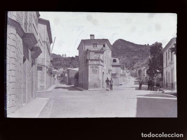 ANDRATX - CLICHE ORIGINAL - NEGATIVO EN CELULOIDE - AÑOS 1900-1920 - FOTOTIP. THOMAS, BARCELONA (Postales - España - Baleares Antigua (hasta 1939))