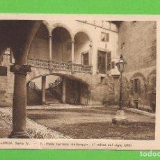 Postales: POSTAL - PATIO BARROCO MALLORQUÍN 1ª MITAD DEL SIGLO XVIII - MALLORCA. - SIN CIRCULAR.. Lote 138028002