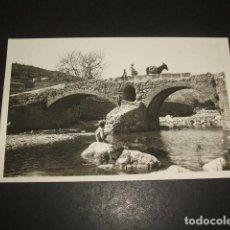Postales: POLLENSA MALLORCA PUENTE ROMANO. Lote 138940182