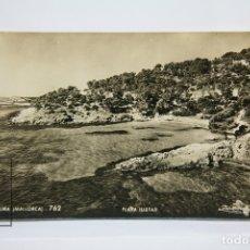 Postales: POSTAL FOTOGRÁFICA - PALMA MALLORCA, PLAYA ILLETAS Nº 762 - EDICIÓN ZERKOWITZ. Lote 176532393